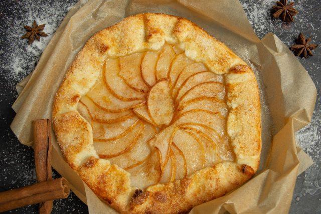 Тарт с грушей, или Самый простой песочный пирог