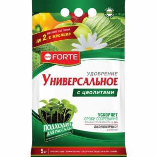 Универсальное удобрение «Bona Forte с цеолитами»