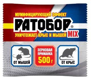 Зерновая приманка для крыс и мышей «Ратобор MIX»