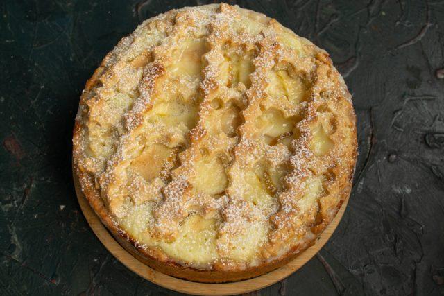 Цветаевский яблочный пирог готов